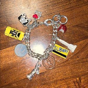 New York themed bracelet